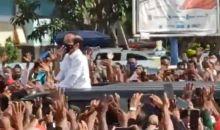 Presiden Jokowi dalam Antusiasme dan Kerumunan