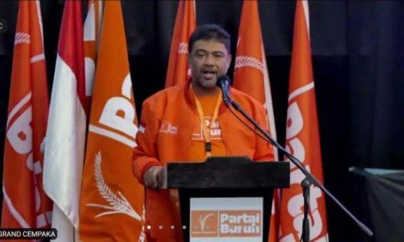Presiden KSPI, Said Iqbal Pimpin Partai Buruh yang Baru